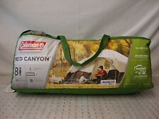 Coleman 8-Person Red Canyon Tent (Black)