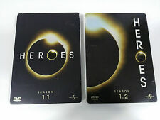 HEROES TV SERIES SEASON 1.1 + 1.2 - 7 DVD STEELBOOK + EXTRAS ENGLISH DEUTSCH