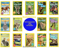 NATIONAL GEOGRAPHIC KIDS READER PRE READER 14pk Pup,Cub,Monkey,RaceDay,Sloth,Fly