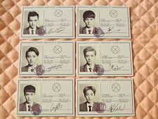 Lot of 6 EXO-M EXO HUG Wolf Photocard Full Set Luhan Xiumin Kris Tao Lay Chen