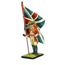 AWI041 British 22nd Foot Standard Bearer - King's Colors by First Legion