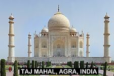 SOUVENIR FRIDGE MAGNET of THE TAJ MAHAL INDIA