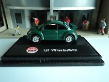 MODEL POWER    VW  NEW BEETLE RSI  GREEN  1/87   HO   DIE CAST
