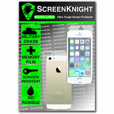 ScreenKnight Apple iPhone 5S FULLBODY SCREEN PROTECTOR invisible MILITARY shield