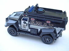 S.W.A.T. Truck. Matchbox BLACK SWAT Police.  LOOSE, New Fresh Out of the Box!