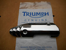 Triumph Speed Triple 1050 2007 Left Exhaust Heat Cover Shield  - Auspuff