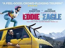 "Eddie the Eagle 16"" x 12"" Reproduction Movie Poster Photograph"