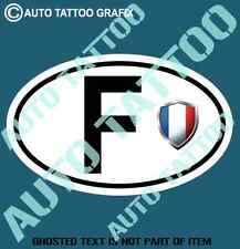 FRANCE COUNTRY CODE DECAL STICKER CAR TRUCK RALLY EURO STYLE DECLS STICKERS