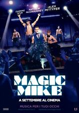 POSTER MAGIC MIKE CHANNING TATUM MATTHEW MCCONAUGHEY MC DANCE MOVIE CINEMA #4