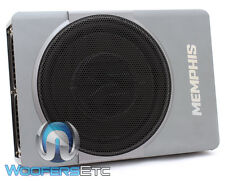 "MEMPHIS SA110SP 10"" NANOBOXX POWERED LOADED AMPLIFIER SUBWOOFER BASS ENCLOSURE"