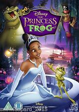 THE PRINCESS AND THE FROG DVD Original Walt Disney Brand New Sealed UK Release