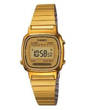 Casio Watch * LA670WGA-9 Retro Mini Gold Slim Steel Watch for Women COD PayPal