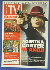 HAYLEY ATWELL Peggy Carter  mag.FRONT cover James D'Arcy,Cool Kids Of Death