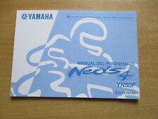 Manual del propietario Yamaha YN 50 F Neo`s 4 2010  Fahrerhandbuch