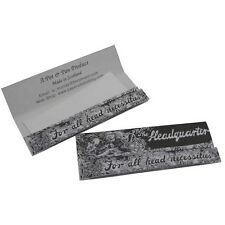 Highland Headquarters Kingsize Rolling Papers And Tips X5 Packs
