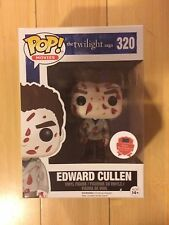 "FUNKO VAMPIRE MOVIES TWILIGHT SAGA  # 320 ""EDWARD CULLEN"" BLOOD SPLATTERED POP"