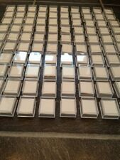WHOLESALE JOBLOT 100 CLEAR BOXES PACKAGING SUPPLIE FOR BODY JEWELLERY, EARRINGS
