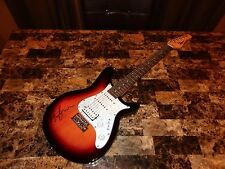 Eric Johnson Rare Authentic Hand Signed Electric Guitar + Bonus Candid Photo WOW