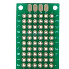 10pcs 2x8cm Double Side Prototype PCB Panel Universal Matrix Circuit Board DIY