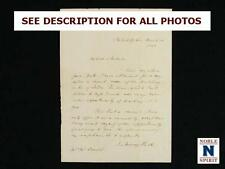 NobleSpirit {3970} Scarce 1840 Letter about Queen Victoria's Wedding Cake