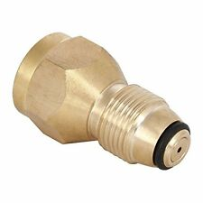 Flexzion Propane Refill Adapter Lp Gas 1 Pound Cylinder Tank Coupler Quick For