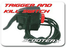 SkaterX Throttle Trigger KIll Switch Wheelman Bushpig Scooter Gas Skateboard