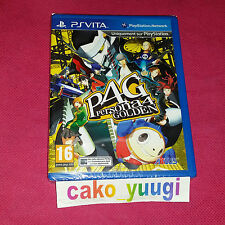 PERSONA 4 GOLDEN PS VITA SONY VERSION FRANCAISE PLAYSTATION VITA NEUF NEW