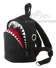 SHARK Backpack SMALL Morn Creations bag infant BLACK