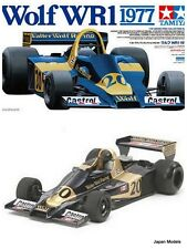 WOLF WR1 1977 Jody Scheckter With Photo Etched Tamiya 20064 1/20 Model Kit New