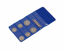 6pc Diamond Cutting Rotary Drill Disc Set -Hobby Tool Dremel - Glass Metal Stone