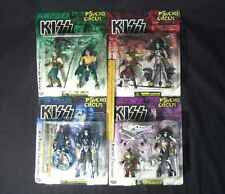 KISS ORIGINALE Psycho Circus 4 Figure Set con personaggi bonus + ACCESSORI abbondante