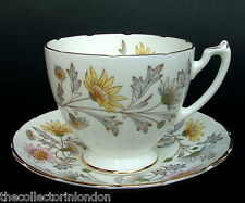 1950's Fine Bone China Coalport Foley Somerset Pattern Tea Cup & Saucer in VGC