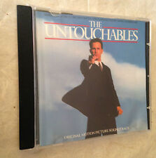 ENNIO MORRICONE CD THE UNTOUCHABLES 393 909-2 1987 OST COLONNA SONORA