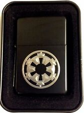 Storm Trooper Star Wars New Black Engraved Cigarette Lighter Biker Gift LEN-0065