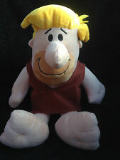 "HANNA BARBERA - THE FLINTSTONES - BARNEY RUBBLE 12"" PLUSH SOFT TOY - PMS - VGC"