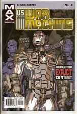 Marvel Max Comics US War Machine #2 NM-