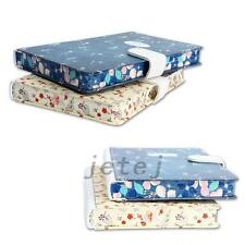 """Retro """"Blue Bird"""" Journal Diary Cute Lined Planner Hard Cover Notebook Memo Gift"""