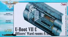CMK 1/72 U-Boat Type VIIC Officers Ward Room & Galley for Revell # N72005