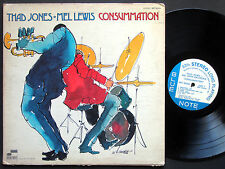 THAD JONES & MEL LEWIS Consummation LP BLUE NOTE BST 84346 US 1970 Billy Harper