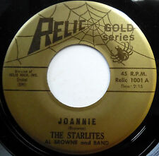 THE STARLITES 45 Joannie / My Greatest Thrill VG++ Doo Wop ORIGINAL e6068