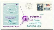 1974 Pioneer 11 Leaves Asteroid Belt Jupiter Cape Canaveral NASA AMES Satellite