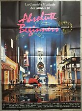 Affiche ABSOLUTE BEGINNERS Julien Temple DAVID BOWIE Patsy Kensit 120x160cm *