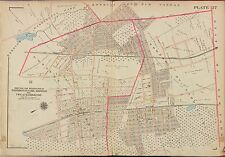 1913 GW BROMLEY NORWOOD HARRINGTON PARK, BERGEN COUNTY NEW JERSEY COPY ATLAS MAP
