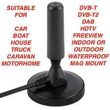 Best Caravan Portable TV Antenna Indoor Outdoor Digital Freeview HD Aerial Ariel