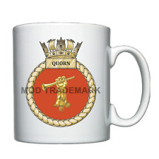 HMS Quorn  -  Royal Navy - Personalised Mug