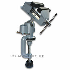 Universal Multi Angle Swivel Table Vice Die Cast Portable Bench Vise Clamp