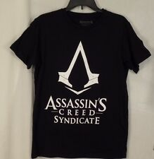 ASSASSIN'S CREED T-Shirt Men's Large  SYNDICATE Assassins Black New