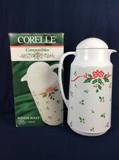 Corelle Winter Holly 1 Qt Thermal Server