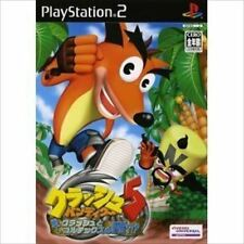 Used PS2 Crash Bandicoot 5 Japan Import