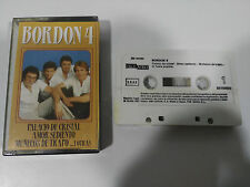 BORDON 4 EXITOS CINTA TAPE CASSETTE AMALGAMA 1987